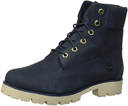 Lite Navy 431 Women's Heritage Boots Midnight Blue Ankle Monochromatic Timberland Nubuck dwE0Bxqv6w