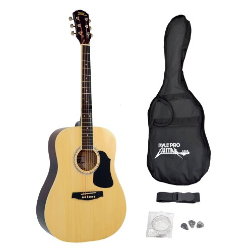 Pyle-Pro PGA20 Professional Full Size Acoustic Guitar Packag