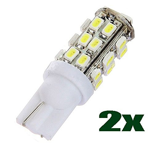 8 SMD LED T10 W5W 501 194 168 Car Wedge Interior Side Light Bulb Lamp ()