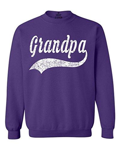 Purple Classic Crew Sweatshirt - 6