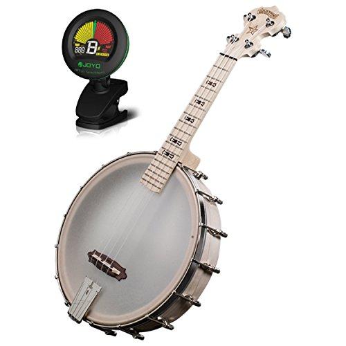 (Deering GUK Goodtime Banjo Ukulele w/ Tuner)