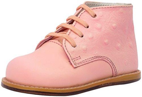 Josmo 8190 Kids Unisex Walking First Walker Shoe,Peach Ostrich`,5.5