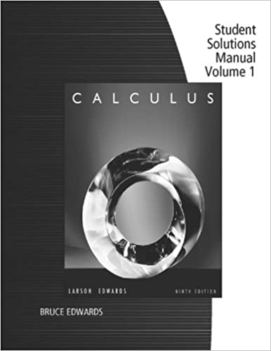 Test bank   solutions manual for calculus larson 9th edition.