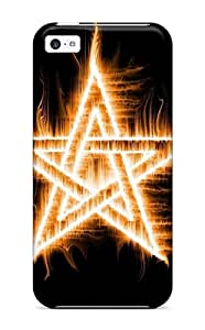 Amazing Blessed Flame Star Fire Case Compatible With Iphone 5c/ Hot Protection Case by icecream design