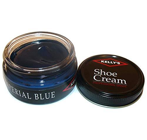 Feet Finished Mahogany - Kelly's Shoe Cream - Professional Shoe Polish - 1.5 oz - Imperial Blue