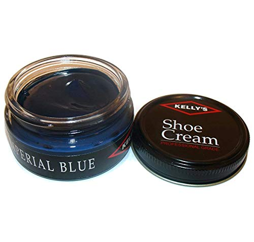 Kelly's Shoe Cream - Professional Shoe Polish - 1.5 oz - Imperial Blue ()