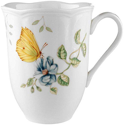Butterfly Meadow Dragonfly 12 oz. Mug [Set of 4] ()