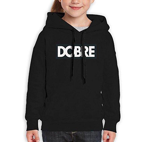 Rosalind Sturge Teens Kids Sports Slim Pullover Hooded Sweater Dobre Brother Logo Black (Brother Hoodie)