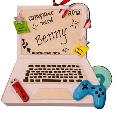 Video Games Personalized Ornament - (Unique Christmas Tree Ornament - Classic Decor for A Holiday Party - Custom Decorations for Family Kids Baby Military Sports Or Pets)