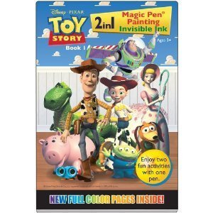 Toy Story Magic Pen Painting Invisible Ink Book 1 - Includes Pen