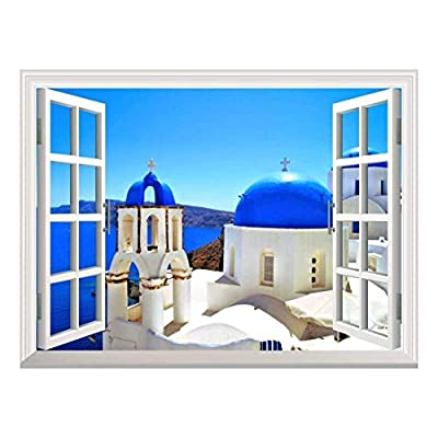 Removable Wall Sticker Wall Mural Beautiful Blue Dome...
