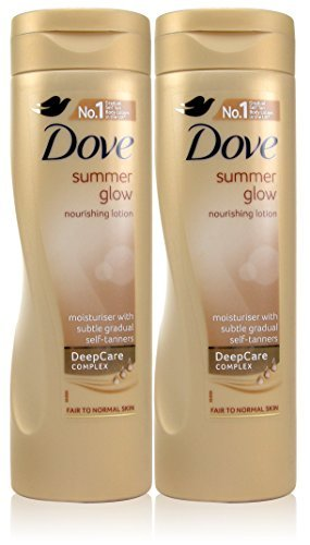 Dove 2X Summer Glow Body Lotion For Fair To Normal 250Ml by Dove