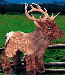 Elk Stuffed Animal