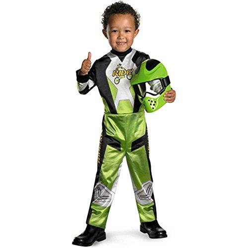 Motorcross Rider Toddler Halloween Costume