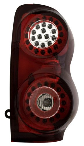 IPCW LEDT-406CR Ruby Red LED Tail Lamp Pair 03-00-LEDT-406CR