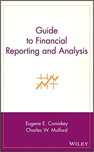 Guide to financial reporting and analysis eugene e comiskey guide to financial reporting and analysis 1st edition fandeluxe Gallery
