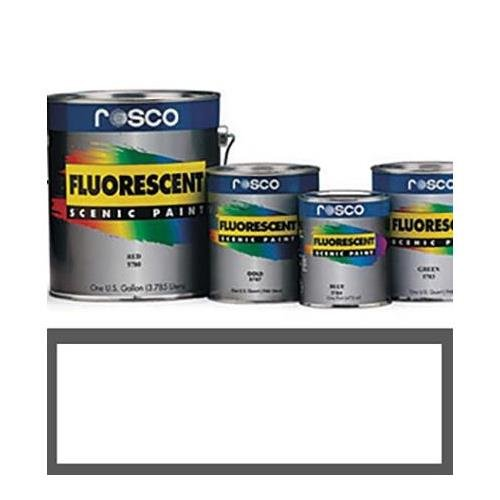 Rosco #5785 Fluorescent Paint, 1 Pint, Invisible Blue