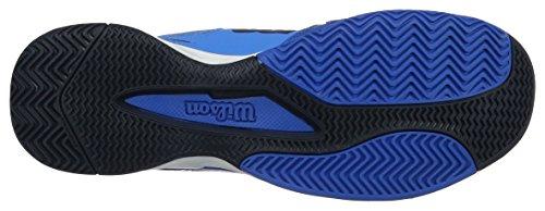 Rush Evo, Zapatillas de Tenis para Hombre, Azul (Brilliant Blue/Navy Blazer/Imperial), EU 41 Wilson