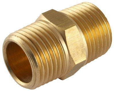 AIR-PRO - 1/4'NPT x 1/4' BSPT ADAPTOR - Male Thread, NPTF x BSPT (Brass Adaptors)