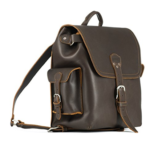 Saddleback Leather Simple Backpack – Best Backpack for School, Business Travel by Saddleback Leather Co. (Image #1)