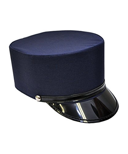 Nicky Bigs Novelties 17356 (Medium 7, Navy) Conductor Hat -