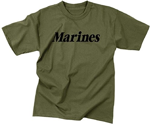 New Boys Girls Marines Military Kids Physical Training Short Sleeve ()