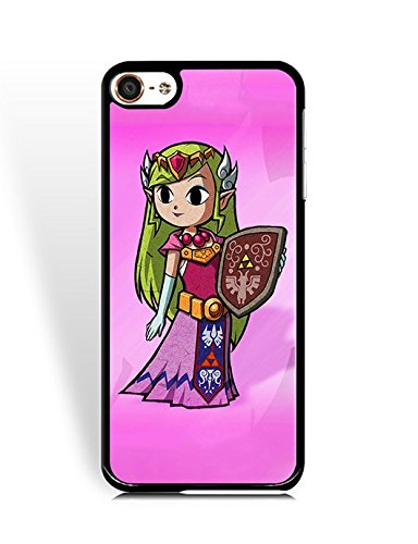 Phone Case for Ipod Touch 6th Spigen Comic Cartoon for Boys, Ipod Touch 6th Zelda Fashionable Theme Hard Back Cover for Ipod Touch 6th Bumper Phone Skin Shell Classical