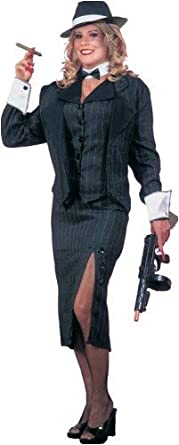 20s female gangster adult halloween costume size standard - Female Gangster Halloween Costumes