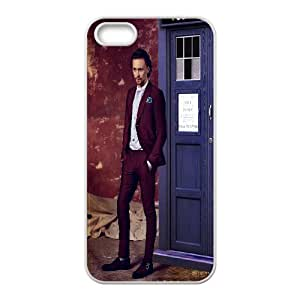 iPhone 5,5S Phone Case Doctor Who Tardis Police Call Box V8T91538