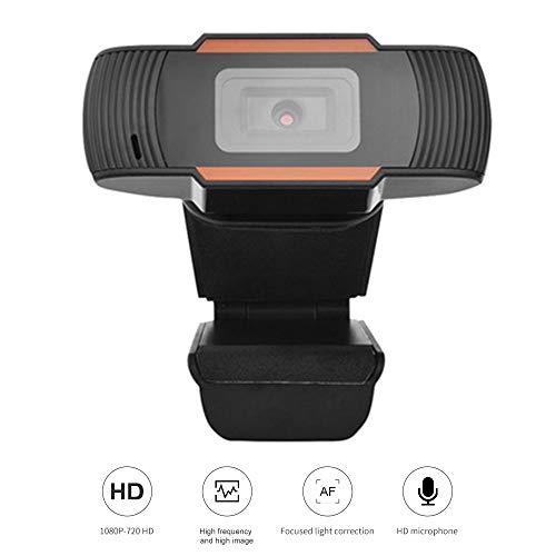KKmoon Videoconferencia Cámara,HD 1080P Cámara Web, Webcam de Conferencia Cámara con Clip con Micrófono para Computadora…