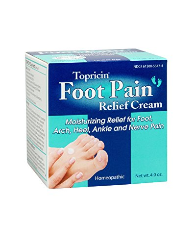 Topricin Foot Pain Relief Cream (4 oz) – Pain Relief Review