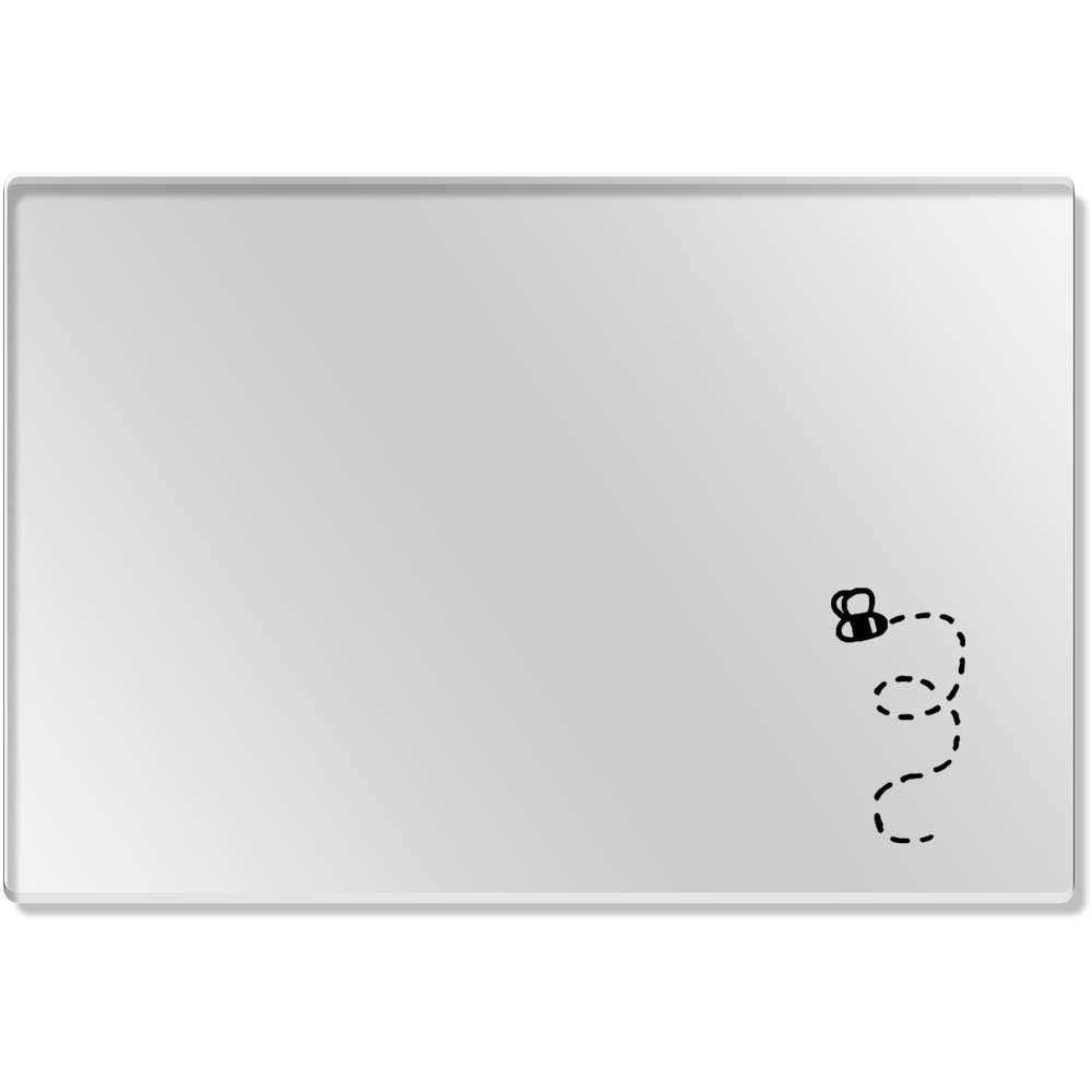 1 x 'Abeille' Set de Table Transparent (CR00065283) Azeeda