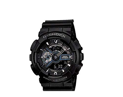 Casio G-Shock Ana-digi World Time Black Dial Men