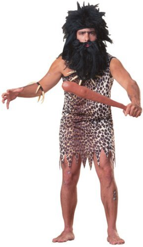 Rubie's Costume Co Classic Caveman Adult Costume,Multi,One Size ()