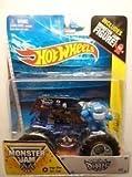 Hot Wheels 2014 Monster Jam #2 Son Uva Digger Includes Monster Jam Figure!