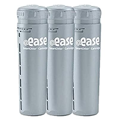 FROG @ease In-Line SmartChlor Cartridge 3-Pack : Garden & Outdoor