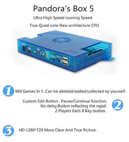 Pandora's Box 5 Support PS3 PC TV 2 Players 1280x720 Full HD by 3H game (Image #3)