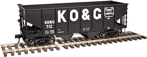 Atlas O 3006813-3 Kansas Oklahoma & Gulf Coast 55 Ton Coal Hopper #736
