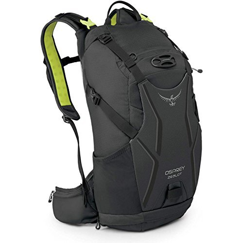 Osprey Zealot 15 Bike Backpack Small/Medium Carbide Grey [並行輸入品] B07DVNW5XX