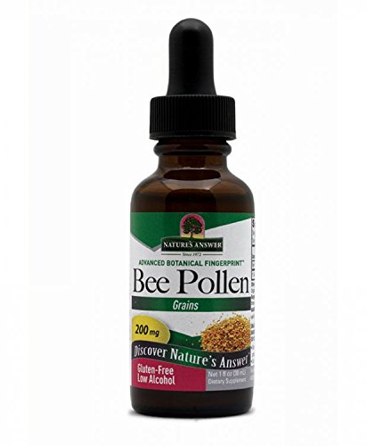 Nature's Answer Bee Pollen with Organic Alcohol, 1-Fluid Ounce