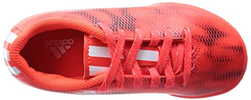 adidas F10 Jungen Futsalschuhe Rot (Solar Red/Ftwr White/Core Black)