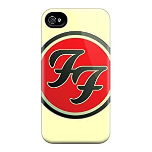 Anti-Scratch Hard Cell-phone Case For Iphone 6 (CBT15716NsHs) Provide Private Custom Stylish Foo Fighters Series