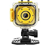Eoncore Kids Camera Waterproof Digital Sport Video Camcorder HD Action Camera Boy Girls Swimming Cycling Skiing Skating 8GB Card …