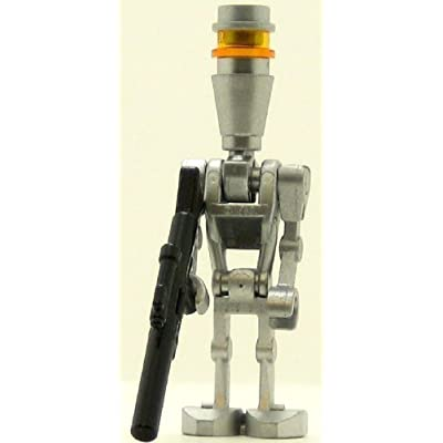 LEGO Star Wars Minifig Assassin Droid Silver: Toys & Games