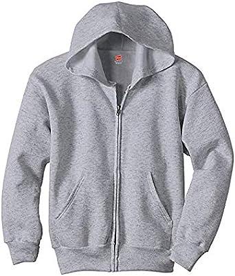 Hanes Kids ComfortBlend EcoSmart Full-Zip Hoodie Sweatshirt