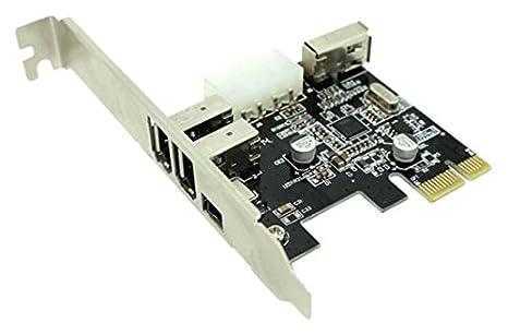 Approx APPPCIEFW3PV2 - Tarjeta PCI-E FireWire, 3+1 Puertos ...