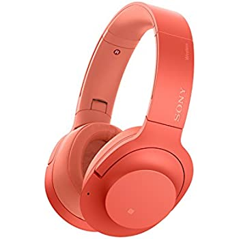 Sony - H900N Hi-Res Noise Cancelling Wireless Headphone Twilight Red (WHH900N/R)