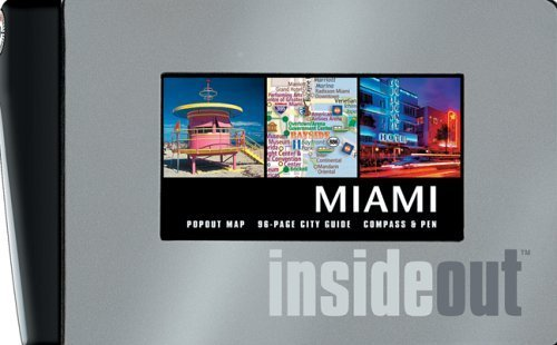 Insideout City Guide: Miami with Other and Pens/Pencils and Map by Map Group - Map City Garden Mall