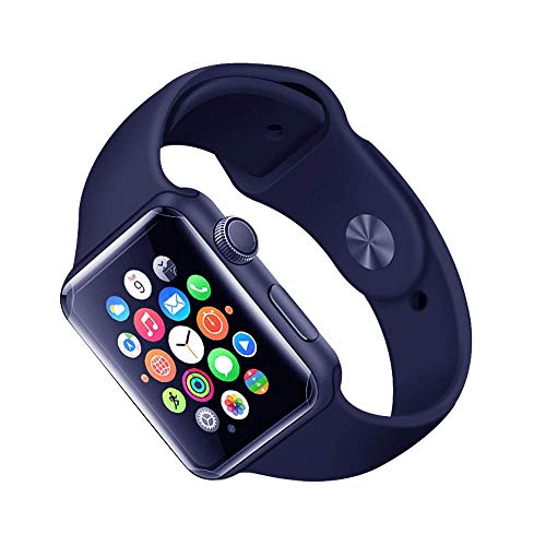 Huangou [ 1 Pack ◆ Smart Watch Full TPU Screen Protector Film ◆ Full Coverage Hydrogel Transparent Screen Protection Film for Apple Watch 4 44mm, Optical Enhancement Film (Clear) by Huangou (Image #1)