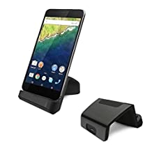 USB C Charger, Geekercity® USB Type C Charging Dock Cellphone Stand Cradle for LG G5, HTC ONE A9, HP Elite X3, Nexus5X, Nexus 6P, Droid Turbo 2, Microsoft Lumia 950 950XL (Black)